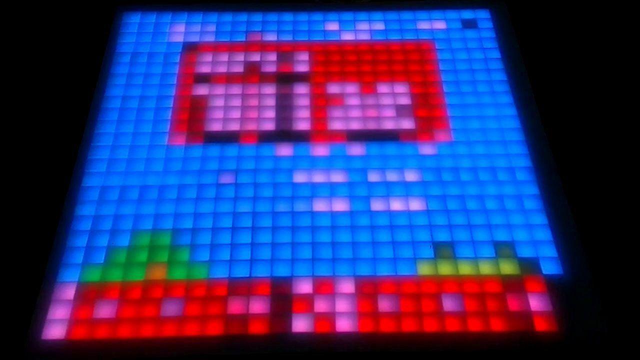 DIY Led Matrix - Lowres Super Mario Bros  Frenzy!   Next