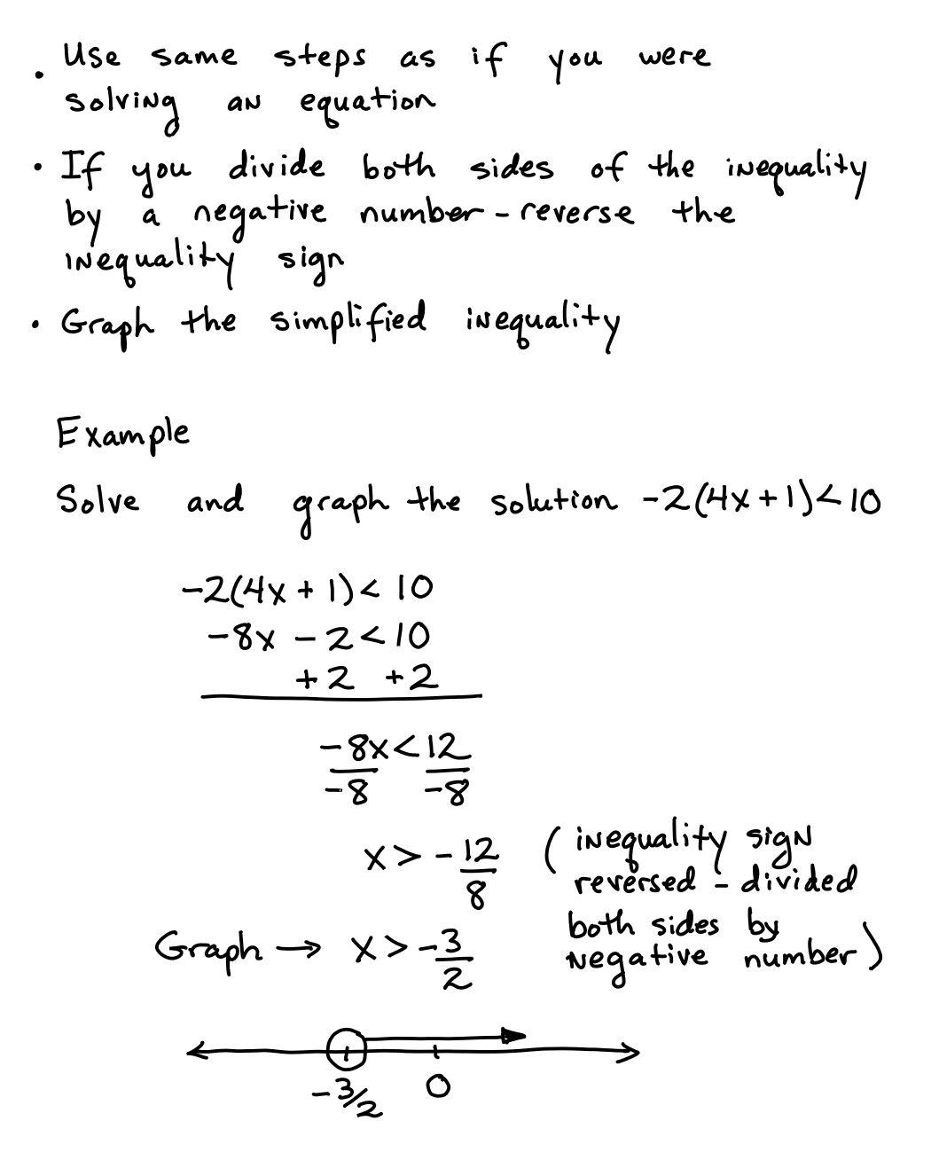 Solve Linear Inequalities Writing Inequalities Graphing Inequalities Linear Inequalities