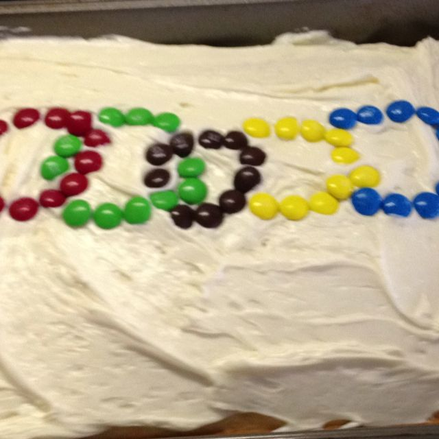 Olympic Cake for Opening Ceremony