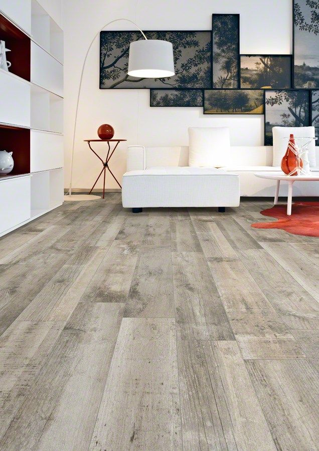 Porcelain stoneware floor #tiles with #wood effect LESHACK by