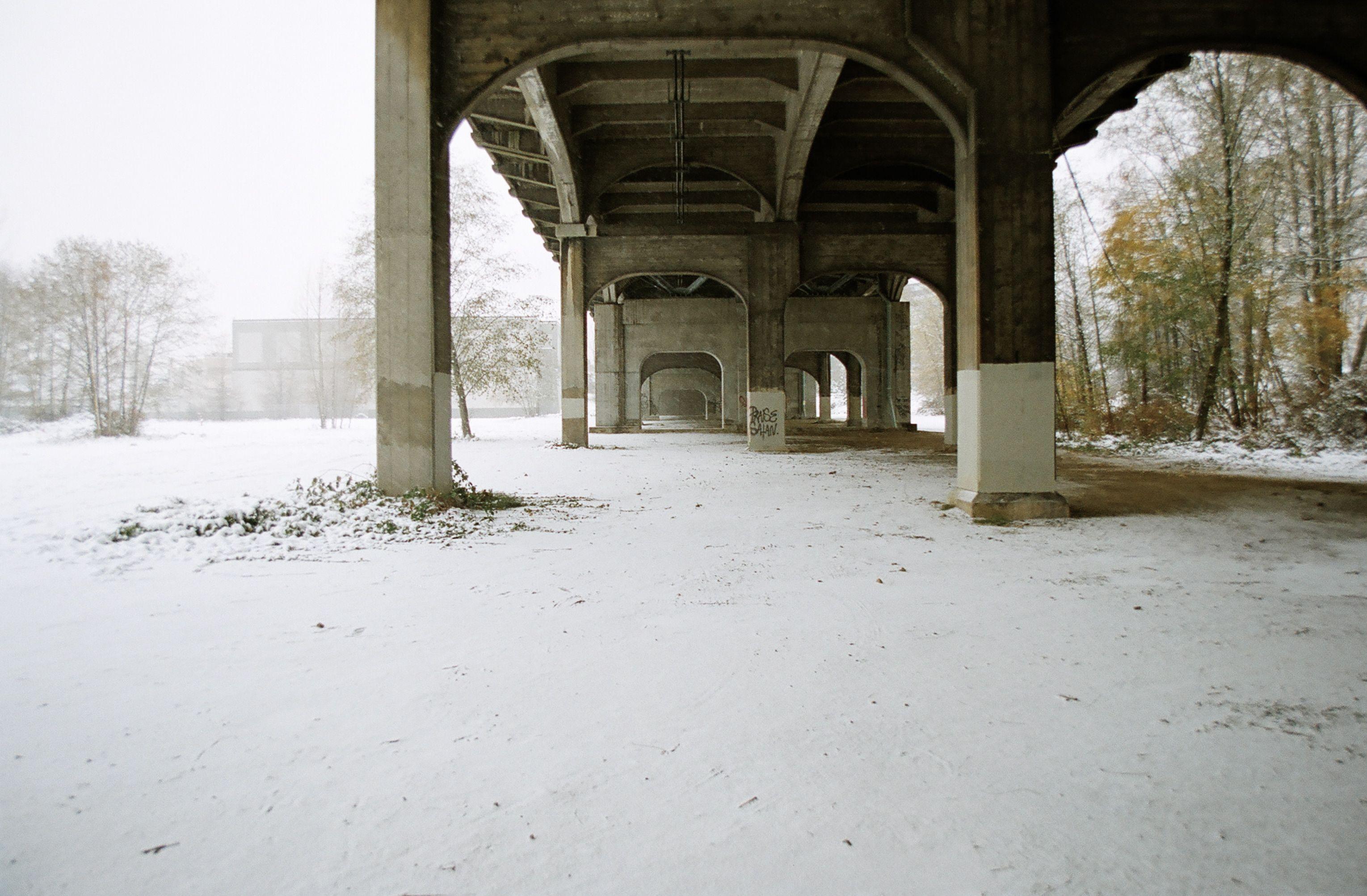 Bridge in Snow