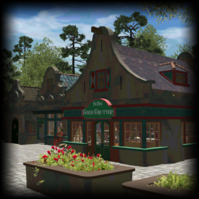 Custom Scenery Depot - Theme Park Games - Pat's Efteling set