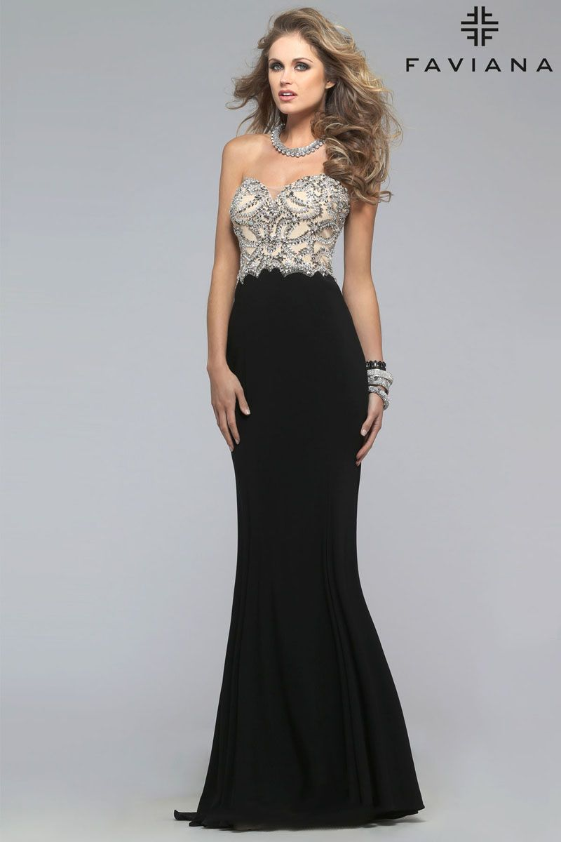 Black and Ivory Dresses