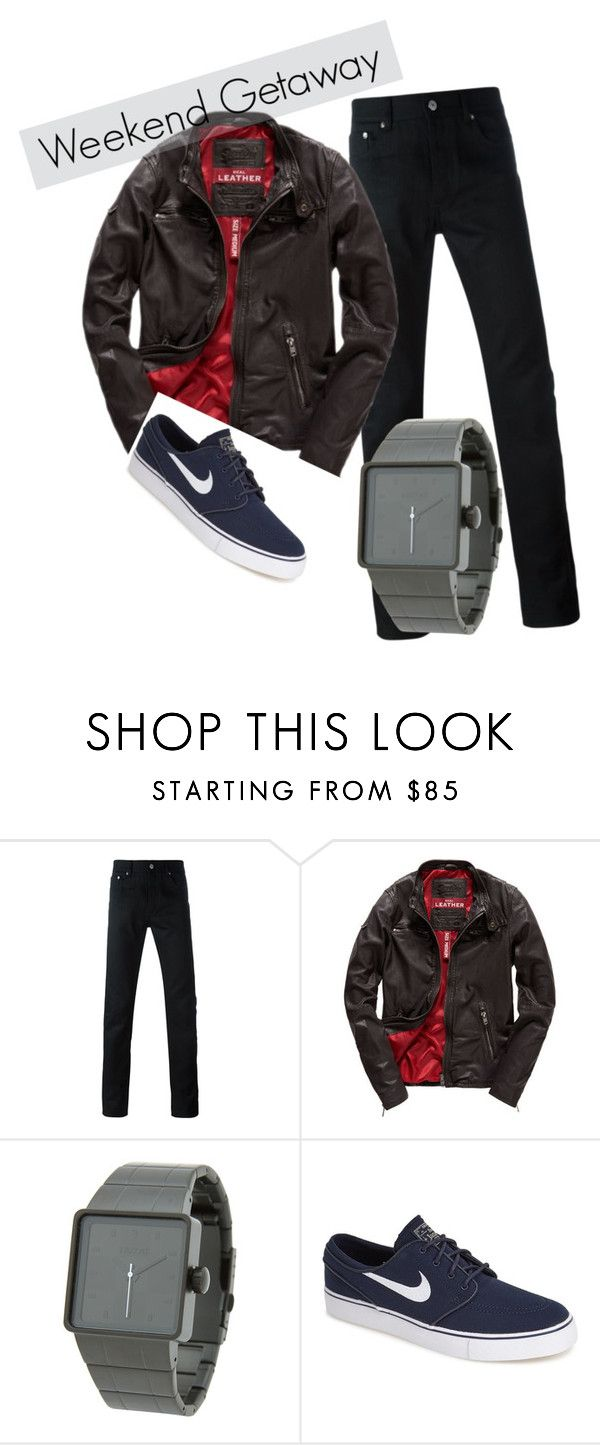 """""""weekend getaway"""" by l-l-k ❤ liked on Polyvore featuring Givenchy, Superdry, Nixon, NIKE, mens, men, men's wear, mens wear, male y mens clothing"""