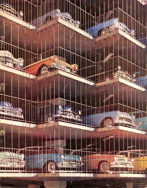 #oldtimers on a parkinggarage #allcolors