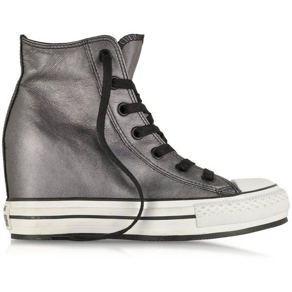Limited Edition All Star Hi Metallic Leather Wedge Sneaker 111277278 218 00 Canada
