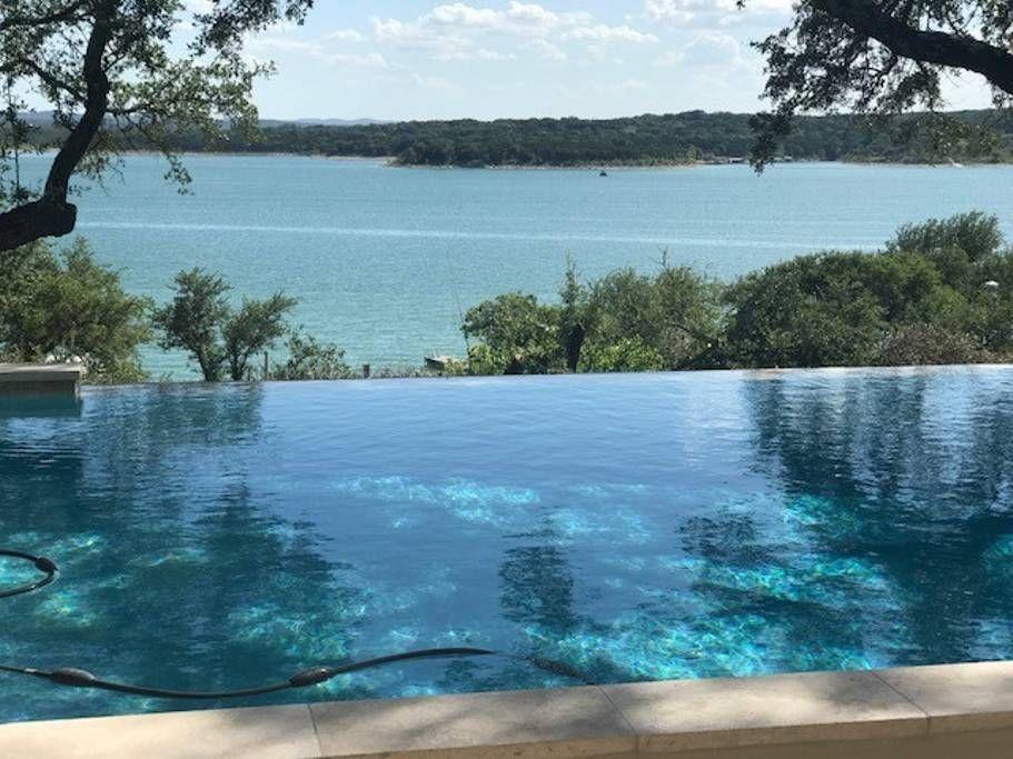 Lake Travis Air BnB w infinity pool Caros Bach Party Inspo