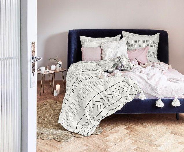 Copripiumino Elegante.Parure Copripiumino In Percalle Kohana Home Decor Home Living