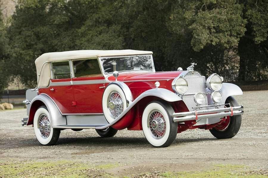 1930 Packard Deluxe Eight Convertible Sedan by Dietrich