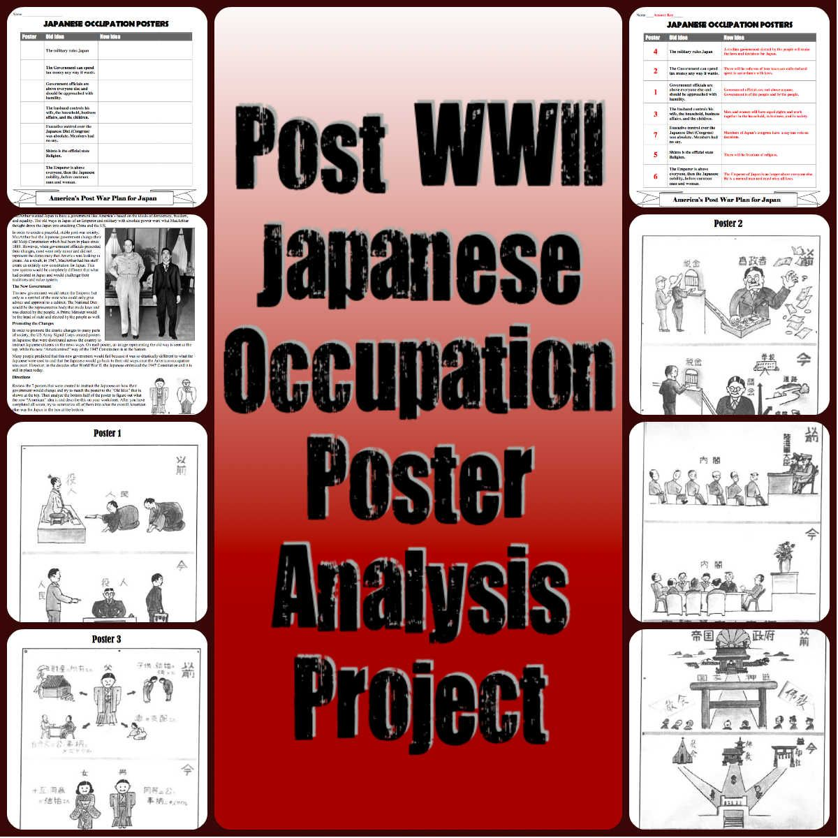 This Great Lesson Has Studentsyze 7 Posters From The