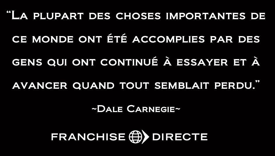 Citation De Dale Carnegie Motivation Citation French