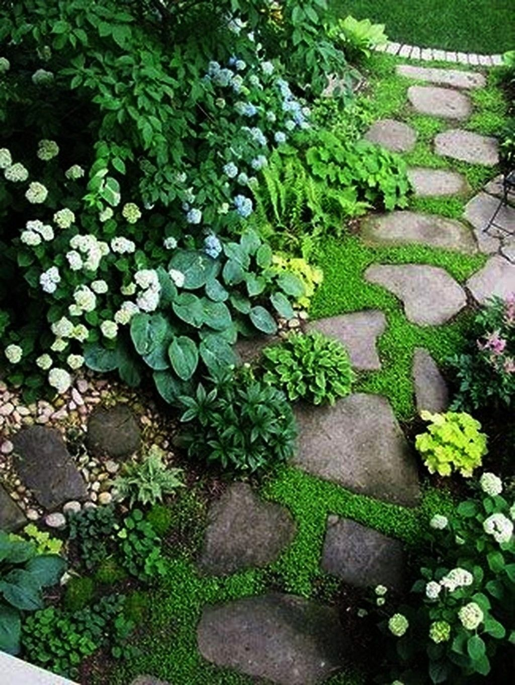 Photo of #pouredinplace #applications #gardenpaths #landscaping #ecofriendly