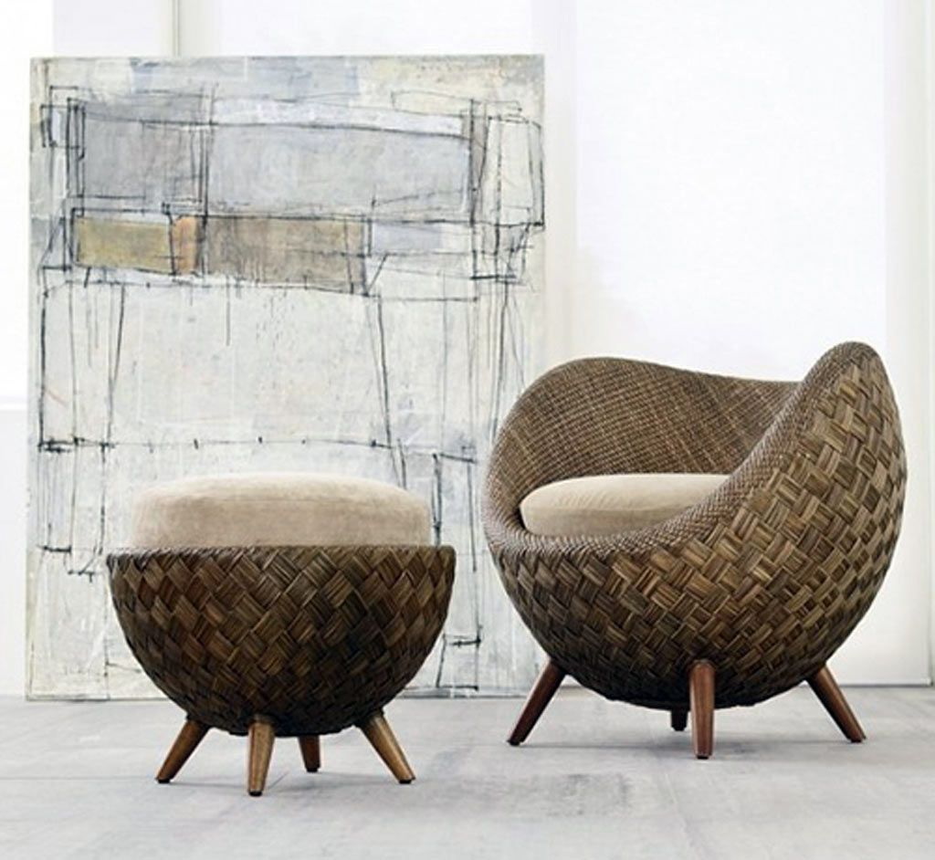 Rattan Sofa Luanda Type Round Patio Chair Cushions Chair Design And Ideas