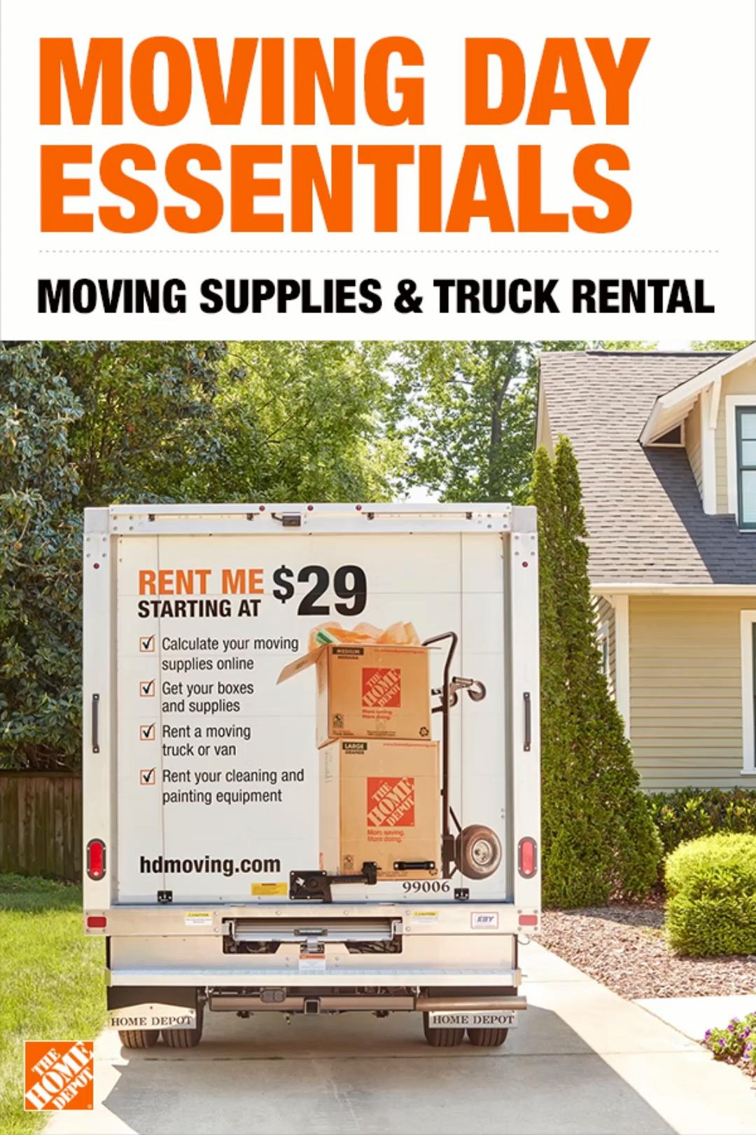 Home Depot Box Truck Rental : depot, truck, rental, Moving, Packing, Supplies, [Video], Supplies,, Packing,