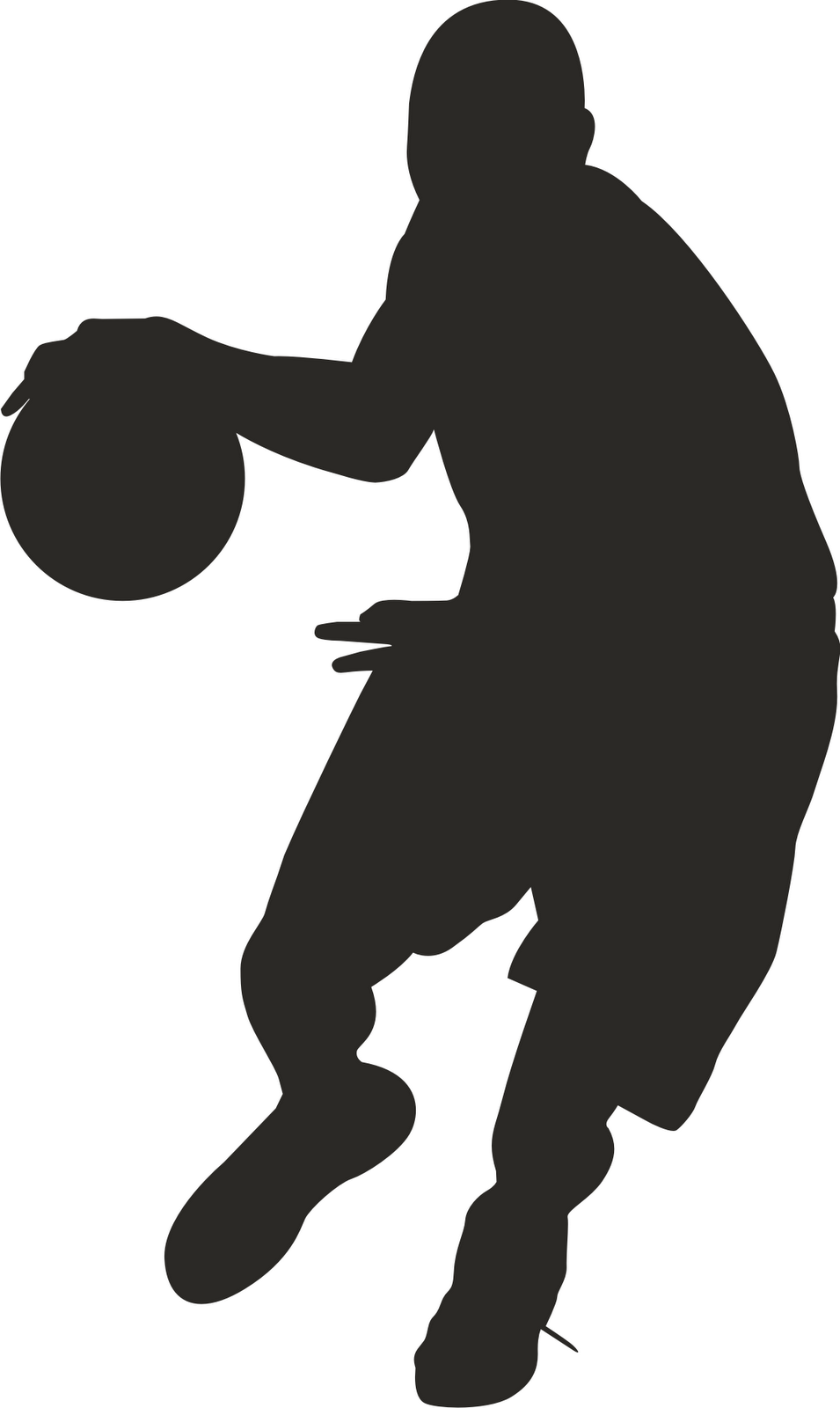 small resolution of clipart basketball players clipart panda free clipart images