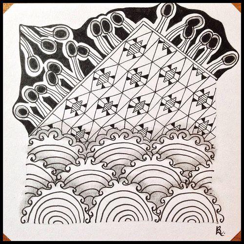 Tangled Tuesday No. 72 - blog post by Laurel Regan at Alphabet Salad.