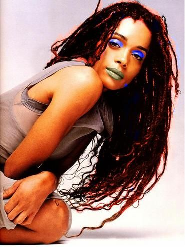 Blue and Green and Lisa Bonet