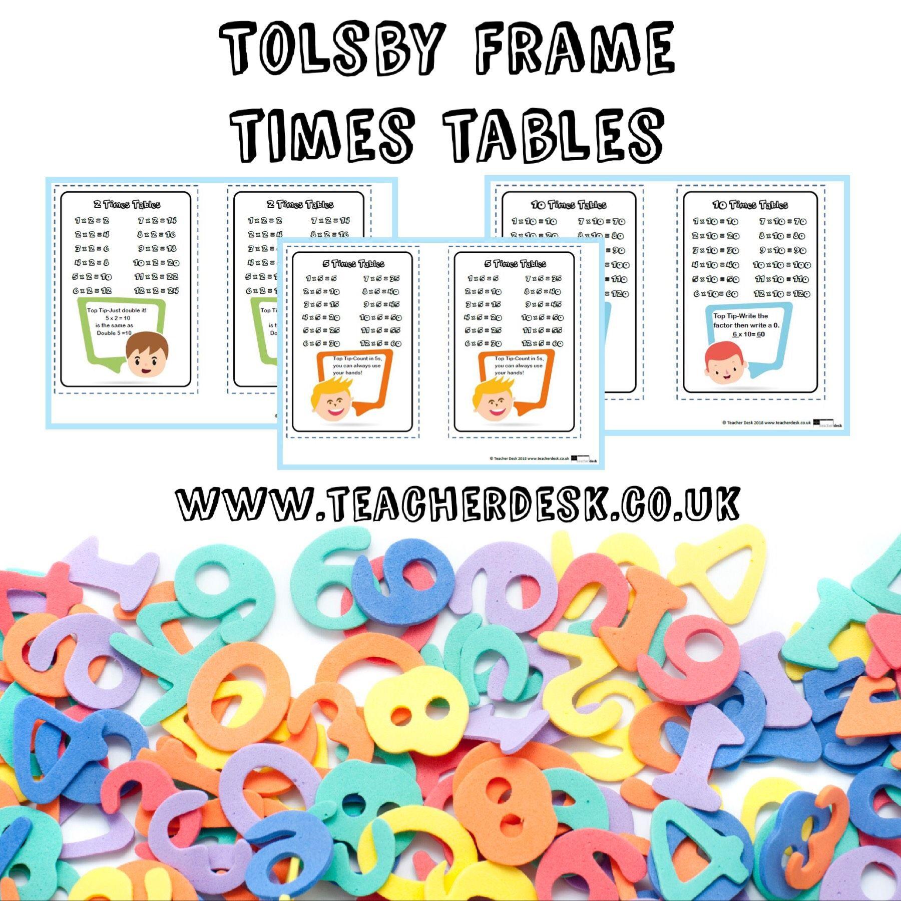 Tolsby Frame Times Tables Teacher Desk Teacherdesk