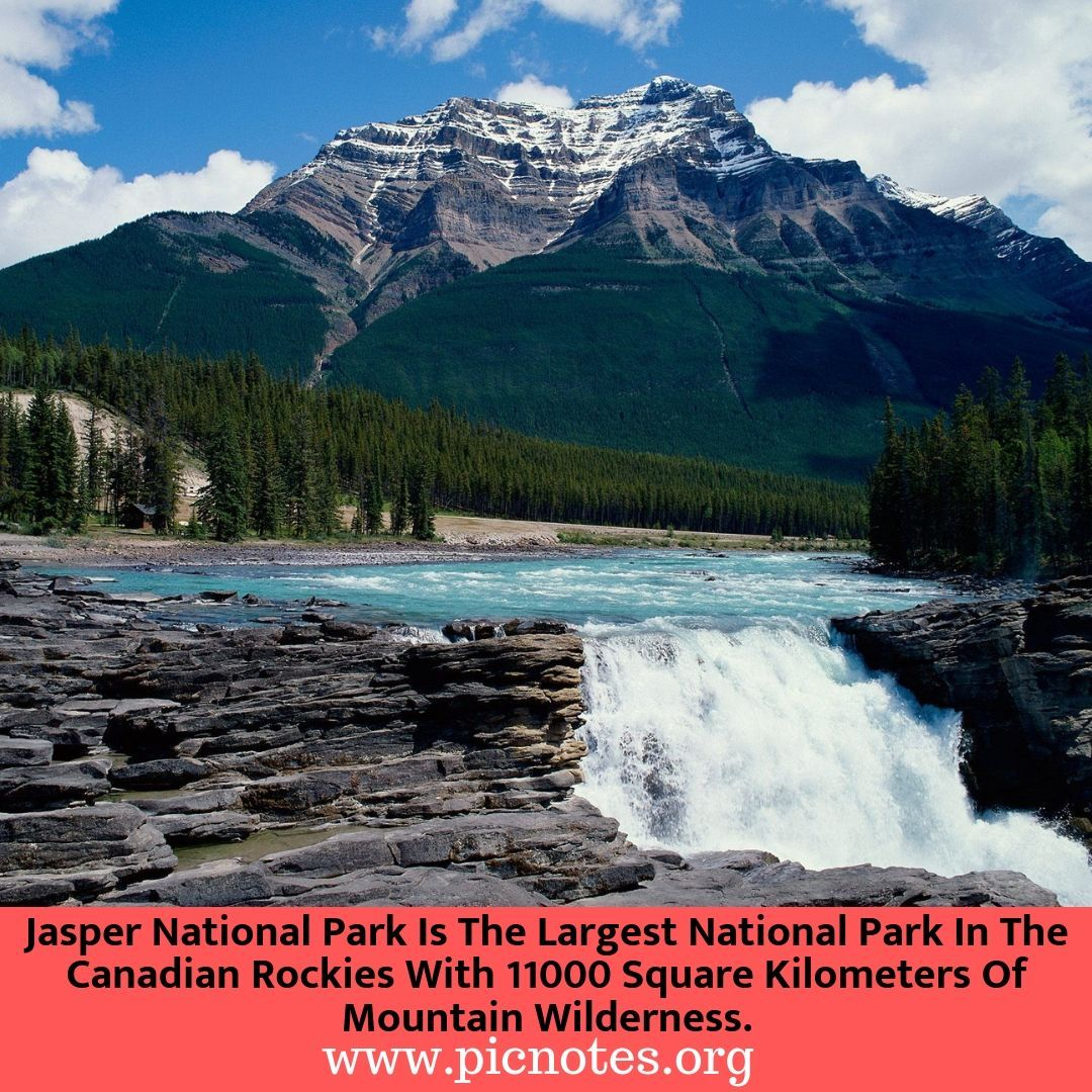 Jasper National Park In Alberta Canada Is The Largest National Park In The Canadian Rockies Sprea Amazing Places On Earth National Parks World Heritage Sites