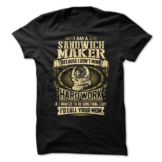 Sandwich Maker  - #gift tags #husband gift. Sandwich Maker , hoodies/sweatshirts,funny hoodie. TRY =>...