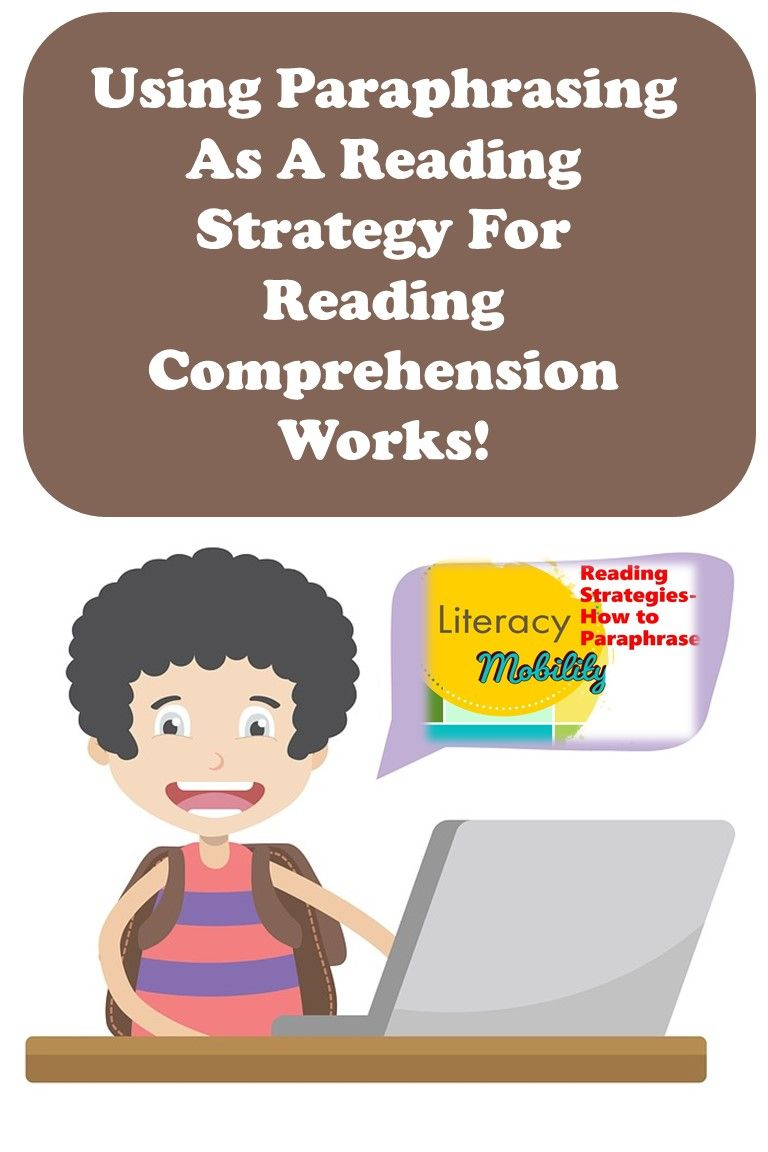 Reading Strategie How To Paraphrase Powerpoint And Worksheet Set Comprehension Resource Skills Paraphrasing For Third Grade