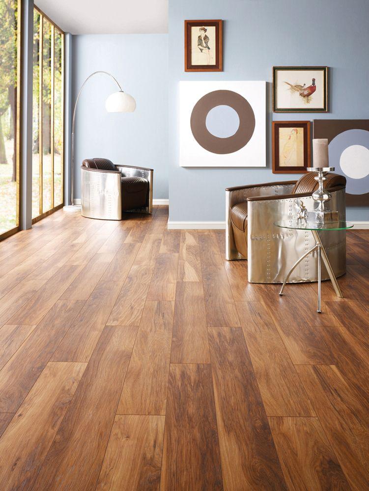Vintage Appalachian Hickory Laminate Flooring