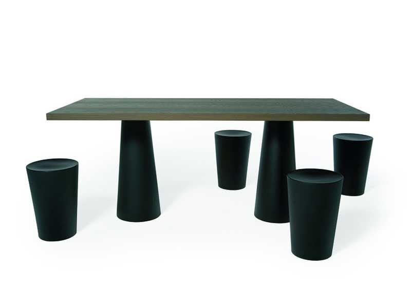 Container Tafel Moooi : Rectangular resin table container table 180x80 moooi© moooi