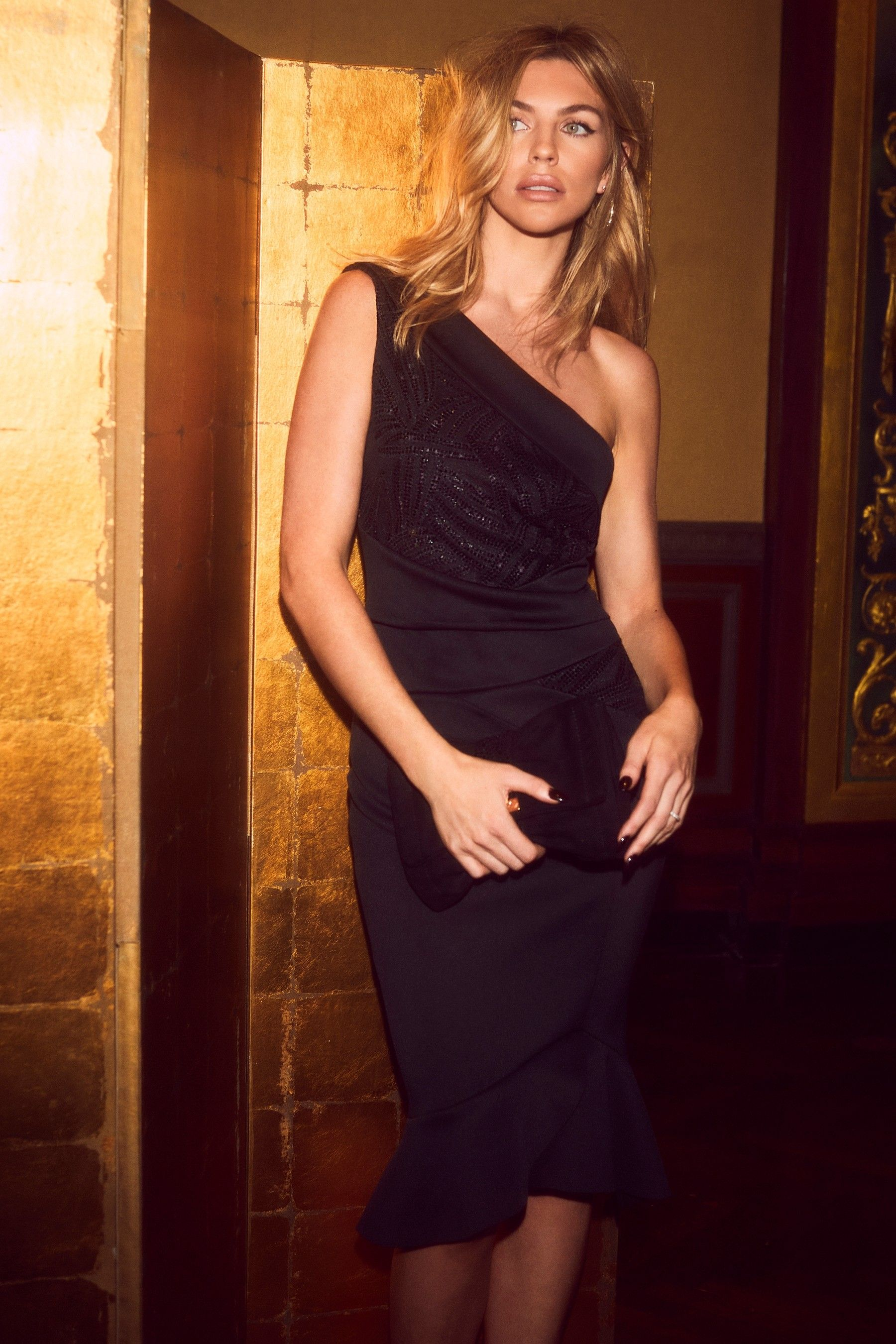 buy sale another chance reputable site Womens Abbey Clancy x Lipsy Petite One Shoulder Bodycon Dress ...