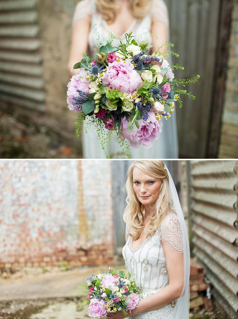 Summer Garden Party Wedding In Hertfordshire, Bride In Jenny Packham ...