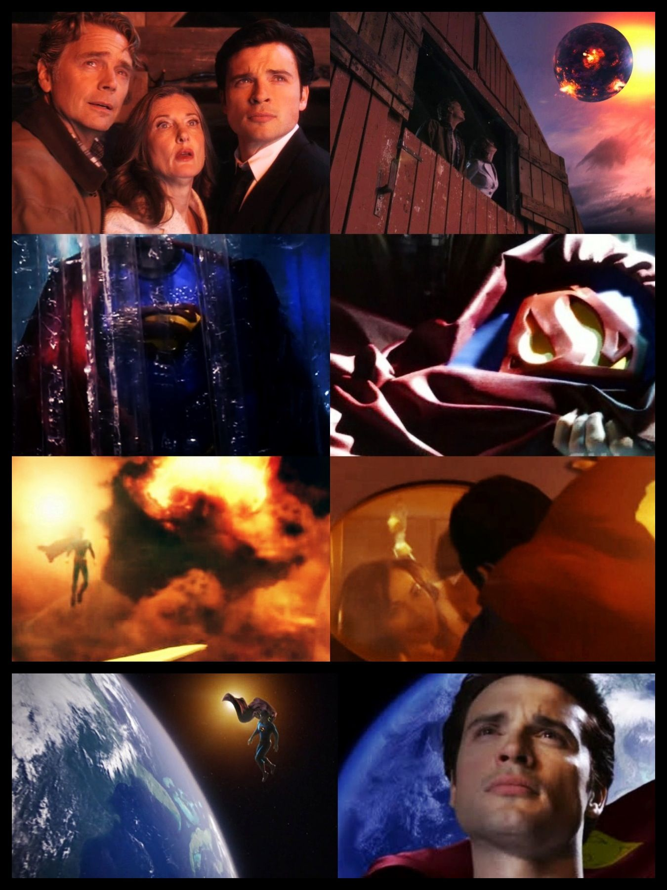 Smallville Season 10 Finale Jonathan Martha Lois Clark Made By Kimmy Westerbaan Smallville Dc Superheroes Best Tv Series Ever