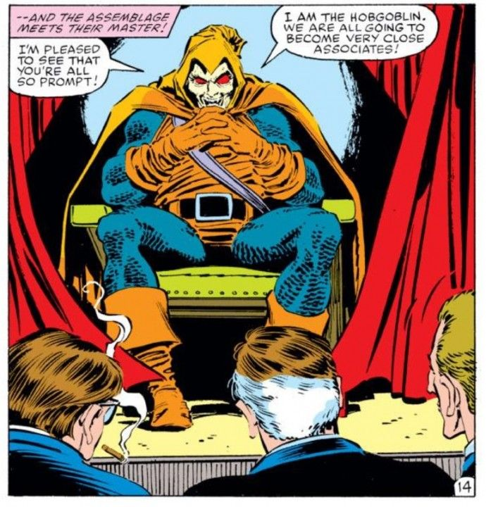 The Hobgoblin (from Amazing Spider-Man #249) | Hobgoblin ...