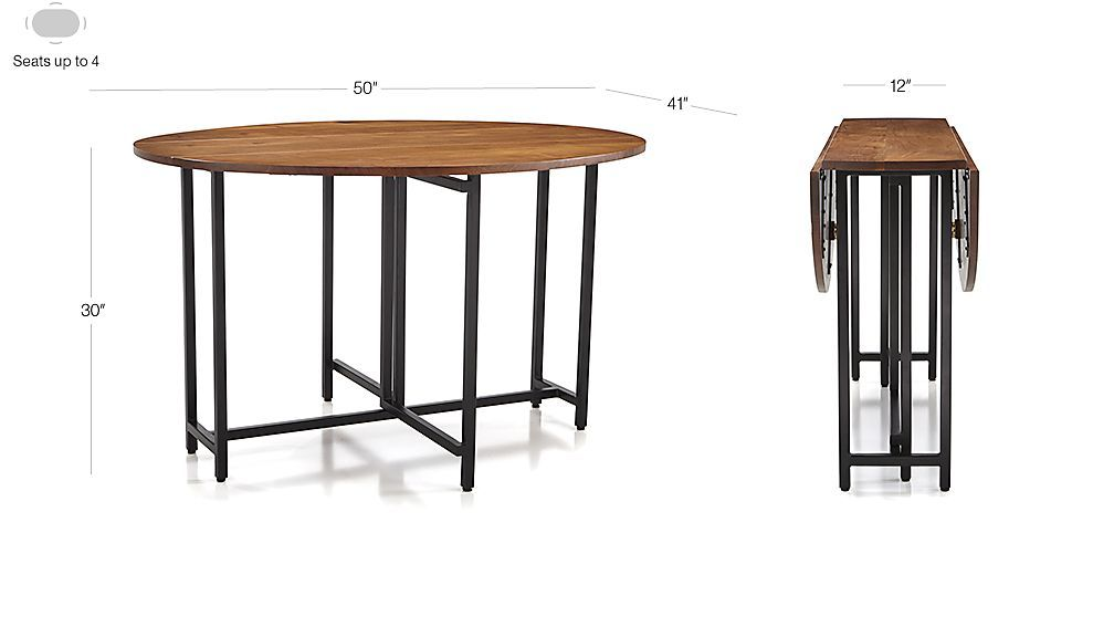 Origami Drop Leaf Oval Dining Table In 2019 Dining Table