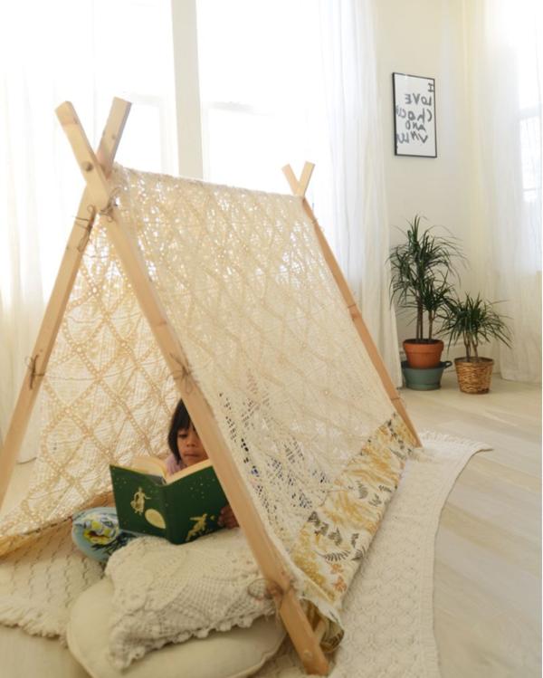 19 Spielerische Diy Zelte Fur Kinder Hohlen Bauen Diy Tent