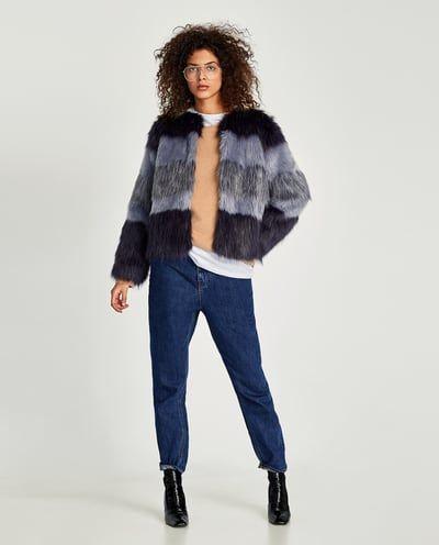 Veste en jean sans manche femme zara