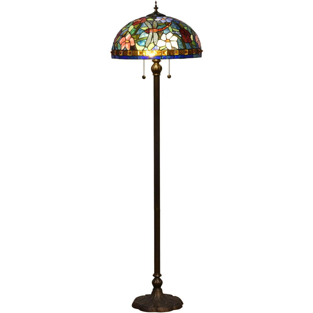 Dale Tiffany Tf16085 Josef Floor Lamp Antique Bronze Tiffany Lamps Ideas Of Tiffany Lamps Tiffanylamps Lamps Lamp Dale Tiffany Floor Lamp