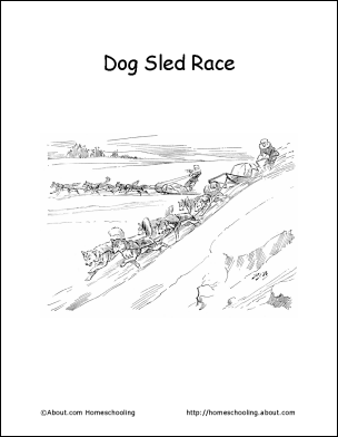 learn about the iditarod race with free printables sonlight core a yukon quest dog stories. Black Bedroom Furniture Sets. Home Design Ideas