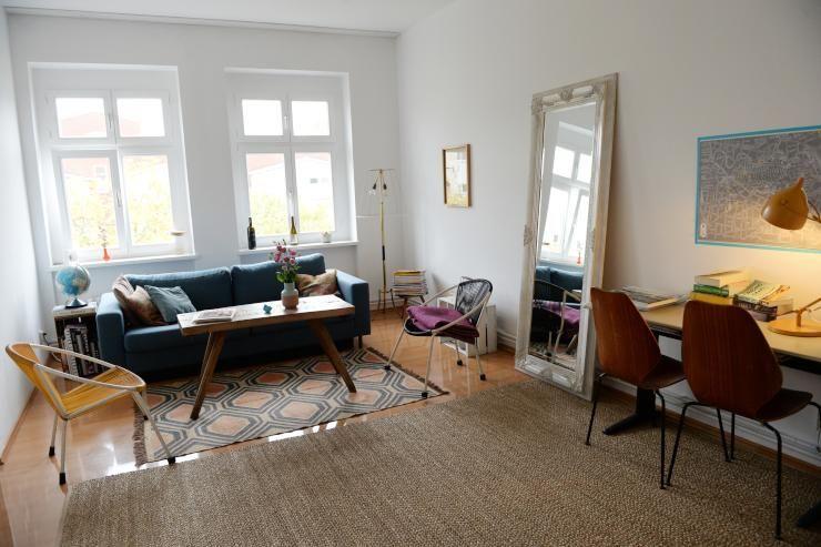 Idee Für Eine Schöne Wohnzimmer Einrichtung Im Altbau Moderne