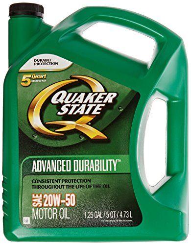Quaker state 5500383103pk advanced durability 20w50 motor for Quaker state advanced durability motor oil