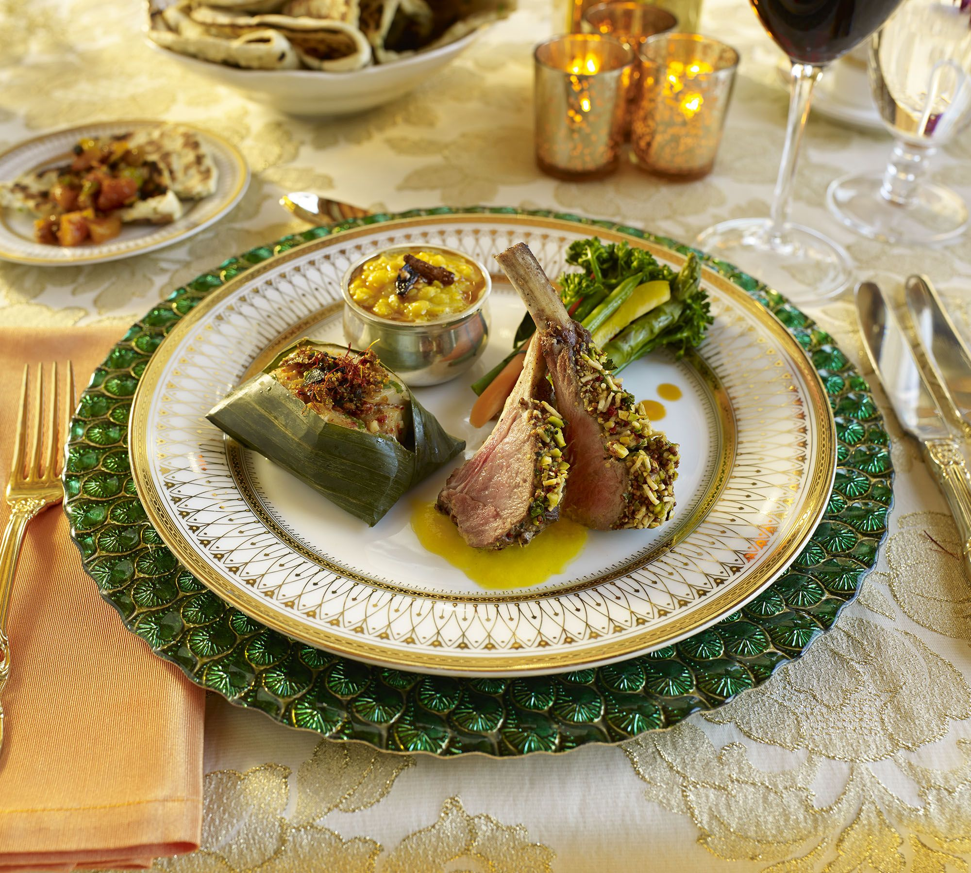 Indian Wedding Food Recipes: Seated Plated Modern Indian Entree By Www