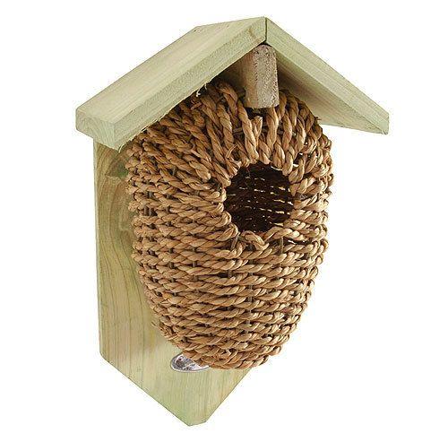nistbeutel f r zaunk nige nistkasten vogelhaus seegras geflochten 26cm little birds. Black Bedroom Furniture Sets. Home Design Ideas