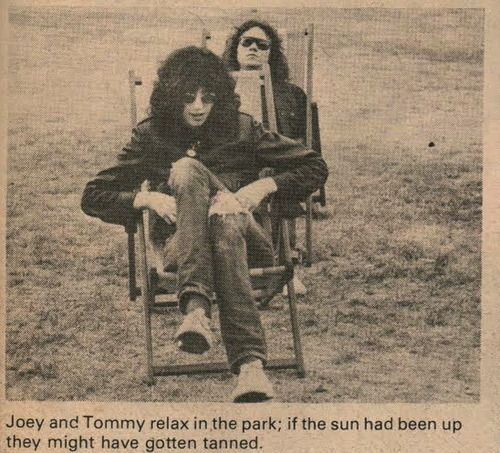 Joey and Tommy Ramone