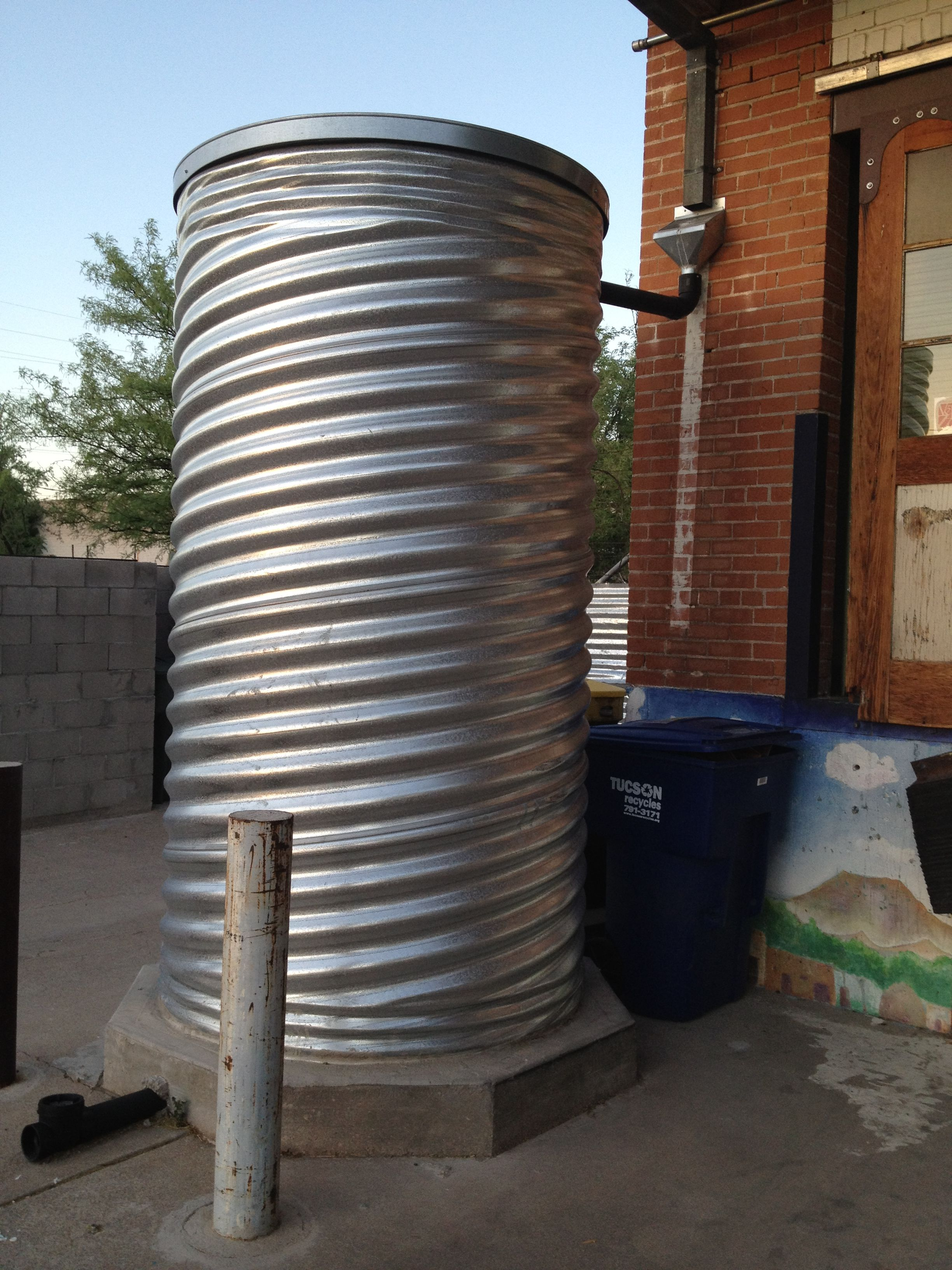 This is a great time to plan your water harvesting project for Cistern plans