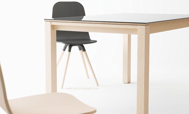Silla cocina nórdica pata madera   tu Cocina y Baño   mesas sillas y ...