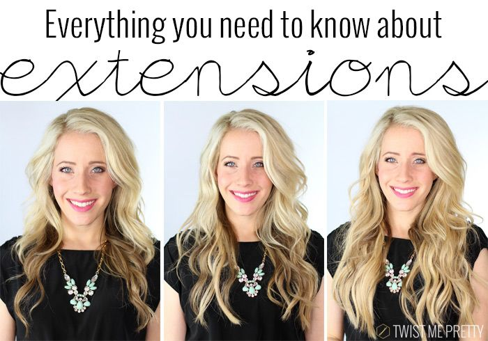 All About Extensions Hair Extensions Extensions And Tutorials