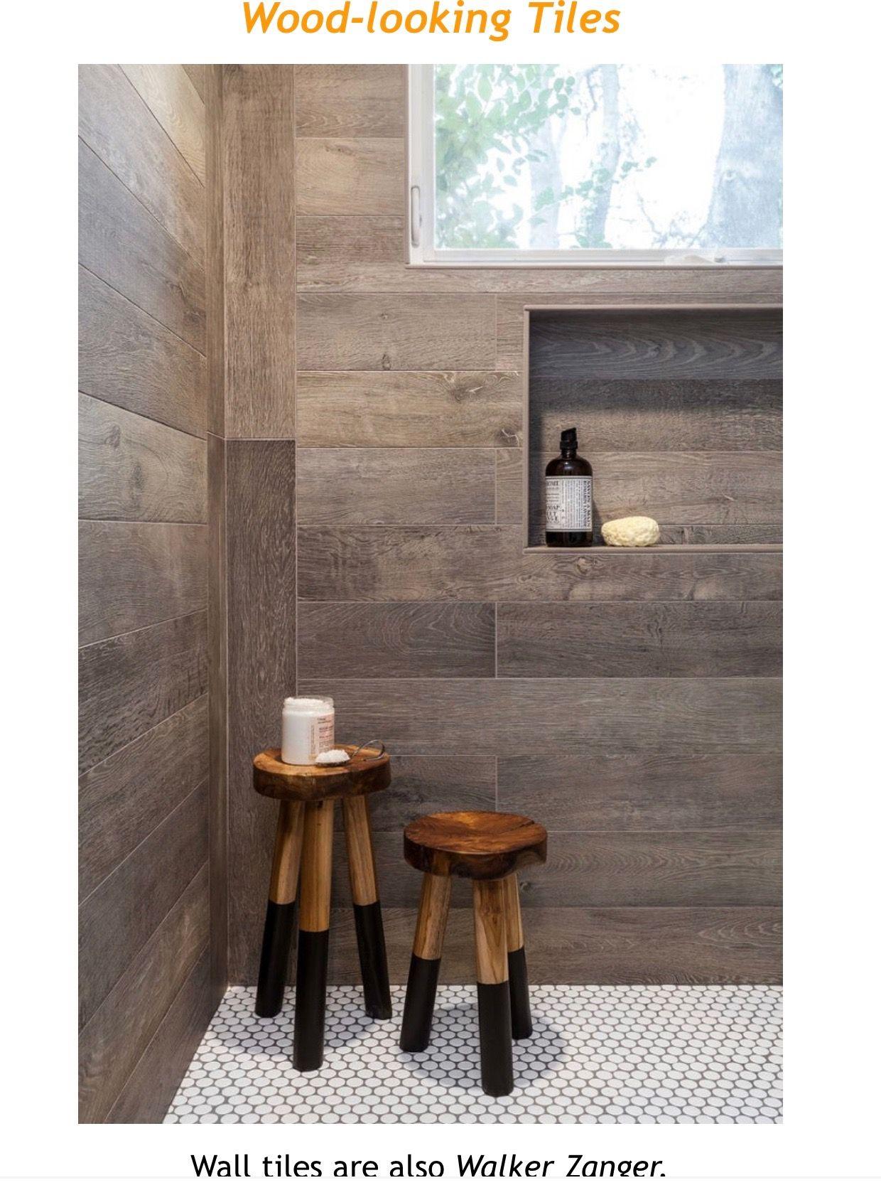 Pin By Christy Pilkington On Tile Ideas Wood Tile Bathroom Wood Wall Tiles Wood Tile Bathroom Floor