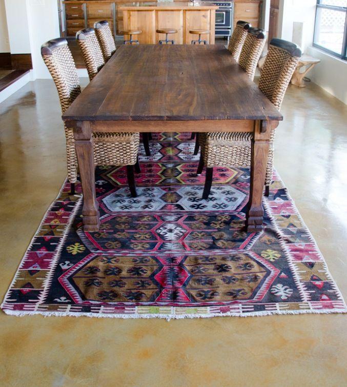 Design N Such's antique kilim rug