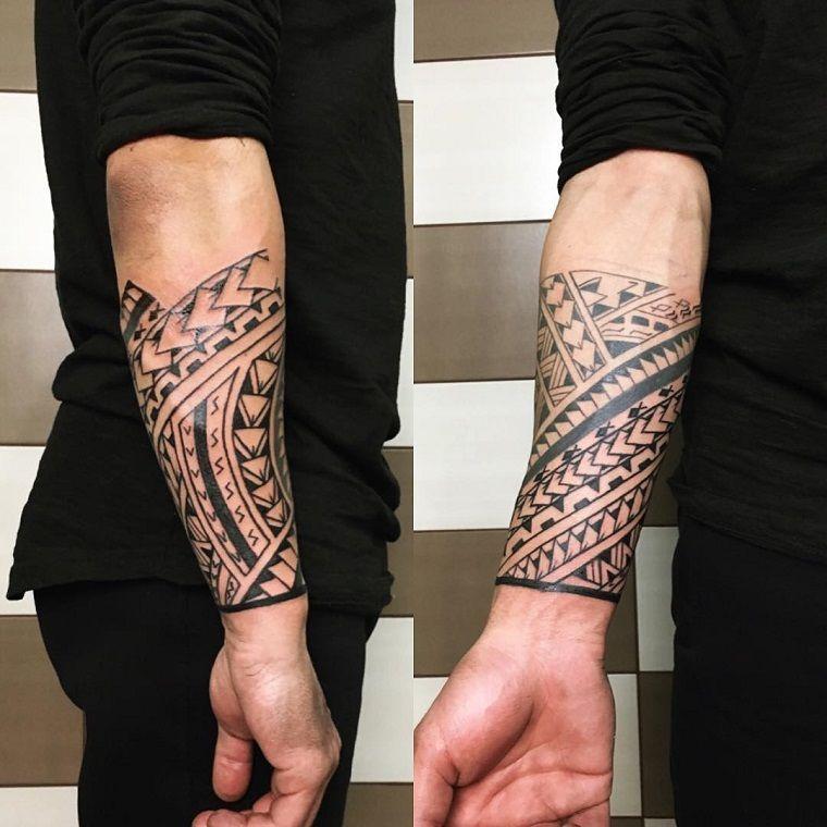foto de maori-tattoo-idea-avanbraccio | Maorie tattoo vorlagen, Maorie ...