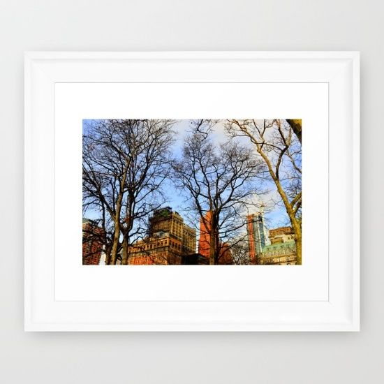 Buy walking around NY city Framed Art Print by haroulita!!. Worldwide shipping available at Society6.com. Just one of millions of high quality products available.