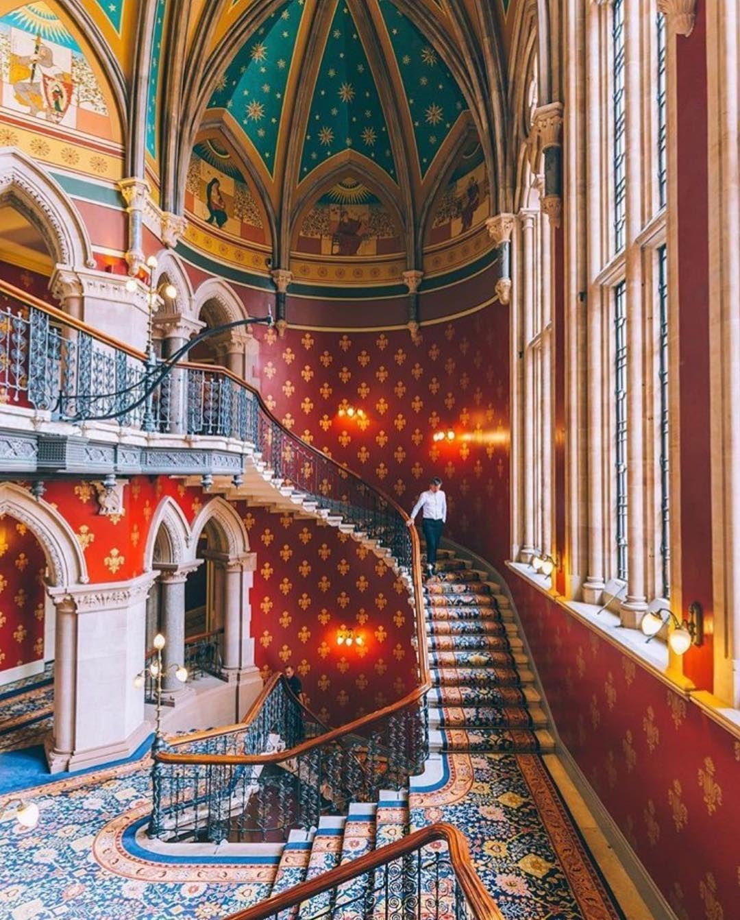 St Pancras Renaissance In 2019 Grand Staircase Renaissance