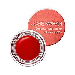 Josie Maran Coconut Watercolor Cheek Gel Blush Makeup Cream